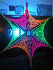 Hexagon Star - UV Light
